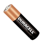 Replacement Battery, AA Duracell Long Life