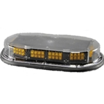 Low Profile Micro Mini Economy Light Bar, Magnetic Mount, 12 V LED, AMBER