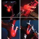 BikeLit LED Bicycle Safety Light, RED