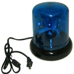 Police Beacon Novelty Light, 8 inch, 110V, Plug-In, BLUE