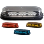 Low Profile Micro Mini Light Bar, Permanent Mount, 12 V LED, with Dash Mount Pattern-Changing Button