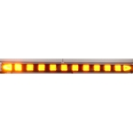 Sequencing LED Traffic Assist Light Bar with 16 Mode Control Box, Arrow End Lamps, 52 in., AMBER