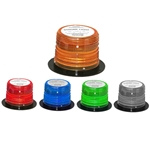 High Power LED Flashing Light, 360 Degree, Flange Base, 12/24 V