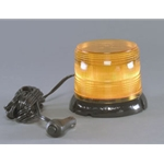 High Power LED Flashing Light, 12/24 V, 360 Degree, 150 lb Magnet Mount