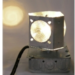Rotating Beacon Light for Lighthouses, 120 volt with 3 ft. cord and plug (BBSP-AC)