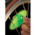 SpokeLit L.E.D. Bicycle Wheel Safety Light, GREEN