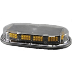 Low Profile Micro Mini Economy Light Bar, Permanent Mount, 12 V LED, AMBER