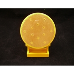 Magnetic Mount, 3 Pattern, Battery-Operated Directional Warning Light, Amber