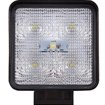 Square LED Flood and Spot Work Light - 1200 Lumens - 12/24V