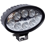 Oval LED Flood Work Light - 1800 Lumens - 12/24V