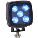 LED Pedestrian Warning Light for Forklift Applications - 400 Lumens - 12/24V