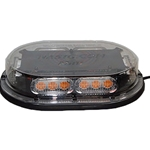 Low Profile, High Power LED Nano Mini Light Bar with Dash-Mount Pattern-Changing Button, Permanent Mount, 12/24 V