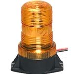 Fork Lift Flashing LED Strobe Light 12/80 V DC, Permanent Mount, AMBER