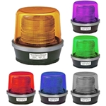 High Power Multi-pattern Strobe Warning Light 12/24 V DC Permanent Mount