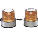 2-Head High Power Strobe Warning Lights with Quad Flash - Q2500SL Series