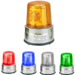 120V AC Medium-Duty 7.75 Inch Revolving Bullseye Beacon
