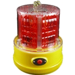 24 LED Flashing Red Personal Safety Light, Magnet Mount, Photocell
