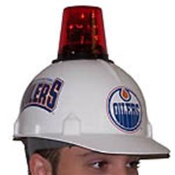 Hockey Hard Had Red Flashing Beacon Light