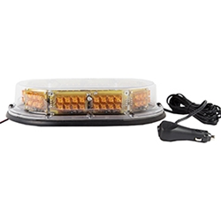 Low Profile, Economy LED Nano Mini Light Bar, Magnetic Mount, 12/24 V
