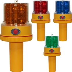 Battery Operated LED Flashing Portable Safety Light with Handle - PSL2HDL Series