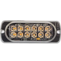 LED Flush Mount Warning Light - LED12000 Series