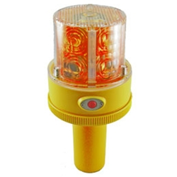 Flashing Led Safety Light With Handle Battery Operated