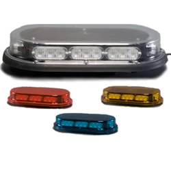 Low Profile Micro Mini Light Bar, Permanent Mount, 12 V LED