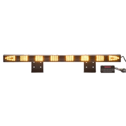 Lovely Sequencing LED Traffic Assist Light Bar With 16 Mode Control Box, Arrow End  Lamps, AMBER Pictures Gallery