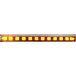 Led traffic assist light bar with 16 mode control box arrow end sequencing led traffic assist light bar with 16 mode control box arrow end lamps 52 in amber aloadofball Images