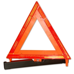 Reflective Traffic Warning Triangle, Single