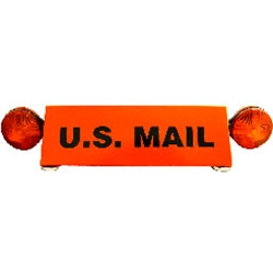 U.S. Mail Warning Light for Rural Carriers Vehicles